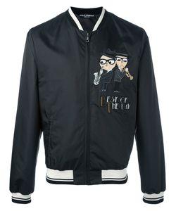Dolce & Gabbana | Designers Patch Bomber Jacket 46