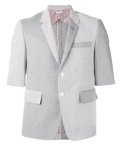 Thom Browne | Shortsleeved Patchwork Blazer Size
