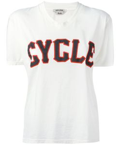 Cycle | V-Neck Print T-Shirt Size Xs