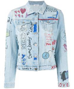 P.A.R.O.S.H. | P.A.R.O.S.H. Doodle Denim Jacket