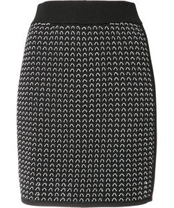 Rag & Bone | Fitted Knitted Skirt Xs Rayon/Nylon