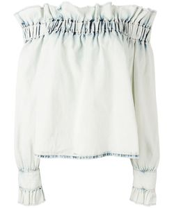 MSGM | Off-The-Shoulder Ruffle Top 42