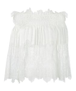 Ermanno Scervino | Off-Shoulders Lace Blouse