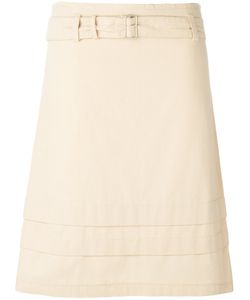 ROMEO GIGLI VINTAGE | Belted A-Line Skirt 38