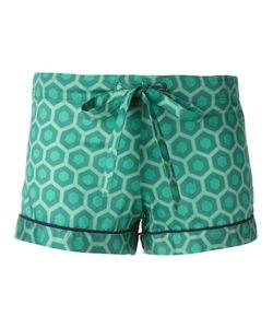 OTIS BATTERBEE | Printed Pyjama Shorts Large Cotton