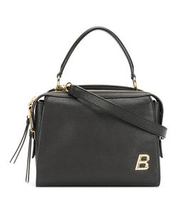 Bally | Letter Plaque Structured Tote