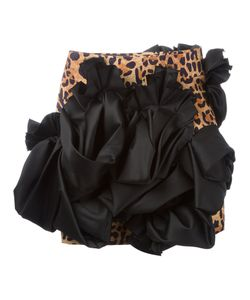 Dsquared2 | Leopard Print Ruffle Skirt Size 42