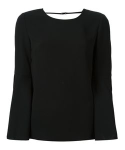 Elizabeth And James | Open Back Blouse 6 Polyester