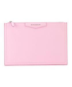 Givenchy | Zip-Top Clutch Bag Goat Skin
