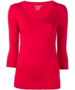MAJESTIC FILATURES   Three-Quarter Sleeve T-Shirt Size 2