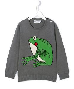 Mini Rodini | Frog Intarsia Jumper 11 Yrs
