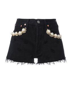 FORTE COUTURE | California Pearl Denim Shorts