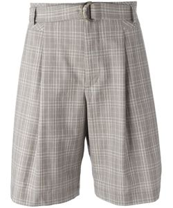 MAISON FLANEUR | Plaid Tailo Shorts 48 Virgin Wool/Polyamide/Spandex/Elastane/Other
