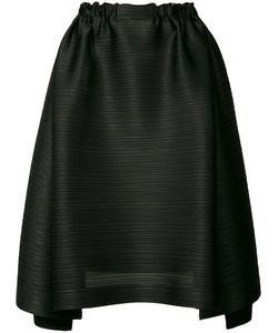 PLEATS PLEASE BY ISSEY MIYAKE | Pleated Texture Asymmetric Skirt