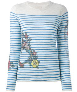 Zadig & Voltaire | Mermaid Print Top Size Small