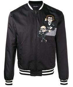 Dolce & Gabbana | Musical Patch Bomber Jacket 52