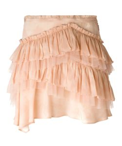 Roberto Cavalli | Ruffled Mini Skirt
