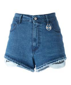 Gcds | Frayed Trim Shorts Size Large