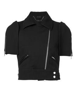 Alexander McQueen | Укороченная Куртка На Молнии