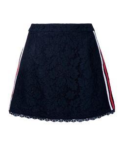 GUILD PRIME | Lace A-Line Skirt 36 Cotton/Nylon/Rayon