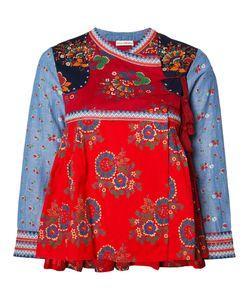 Ulla Johnson | Print Wrap Jacket 4 Cotton/Linen/Flax