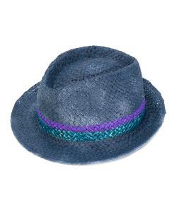 LE CHAPEAU   Шляпа Со Вставкой В Полоску