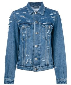 FORTE COUTURE | Denim Distressed Jacket
