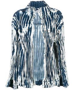 FAUSTINE STEINMETZ   Ruched Tie-Dye Denim Jacket Women