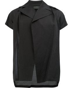 JULIUS | Short Sleeved Open Front Shirt Size 3