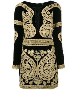 For Love & Lemons | For Love And Lemons Longsleeve Embroidered Dress