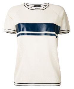 Roberto Collina | Stripe Short Sleeve T-Shirt