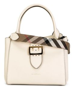 Burberry | Front Buckle Tote Calf Leather