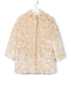 Simonetta | Fur Effect Coat 8 Yrs