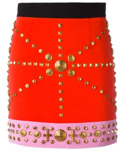 Fausto Puglisi | Studded Fitted Skirt
