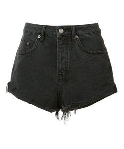 Ksubi | Frayed Denim Shorts 28 Cotton