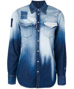 Dsquared2 | Выбеленная Джинсовая Рубашка