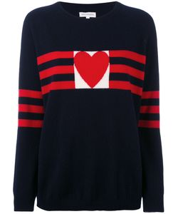 Chinti And Parker | Cashmere Love Heart Sweater