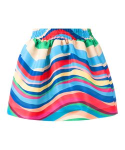 Red Valentino | Striped Skirt 42 Polyester