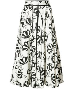 Carolina Herrera | Printed Flared Skirt
