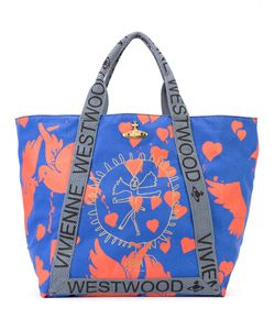 Vivienne Westwood | Bird Print Oversized Tote Cotton