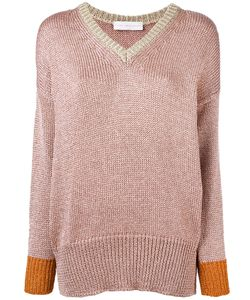 Giada Benincasa | Lurex V-Neck Sweater