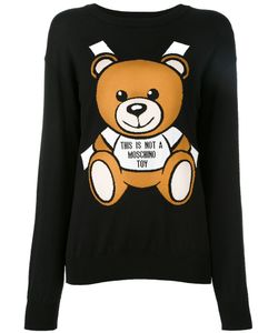 Moschino | Paper Toy Bear Intarsia Jumper Xxs Cotton