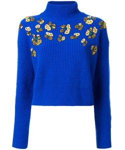 MSGM | Studded Cropped Jumper M