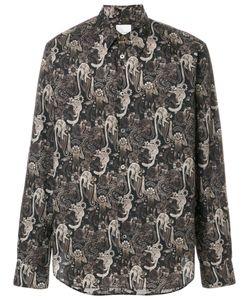 Paul Smith | Рубашка С Абстрактным Принтом
