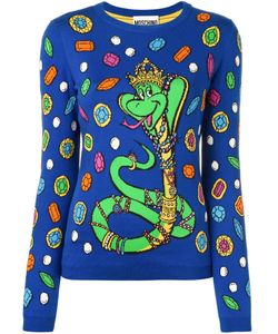 Moschino | Snake Intarsia Jumper 38 Cotton