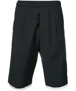 Raf Simons | Contrasting Layer Tailored Shorts Cotton/Virgin