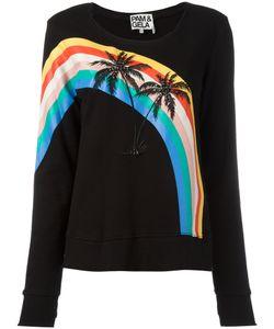PAM & GELA | Palm Trees Sweatshirt Small Cotton