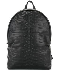 Alexander McQueen | Rib Cage Backpack Leather