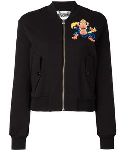Moschino | Monkey Print Bomber Small Cotton