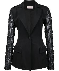 CHRISTIAN SIRIANO | Fitted Jacket 4 Viscose Crepe
